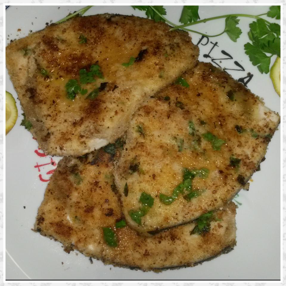 Pesce spada panato alla siciliana una spia in cucina for Cucinare 5 minuti