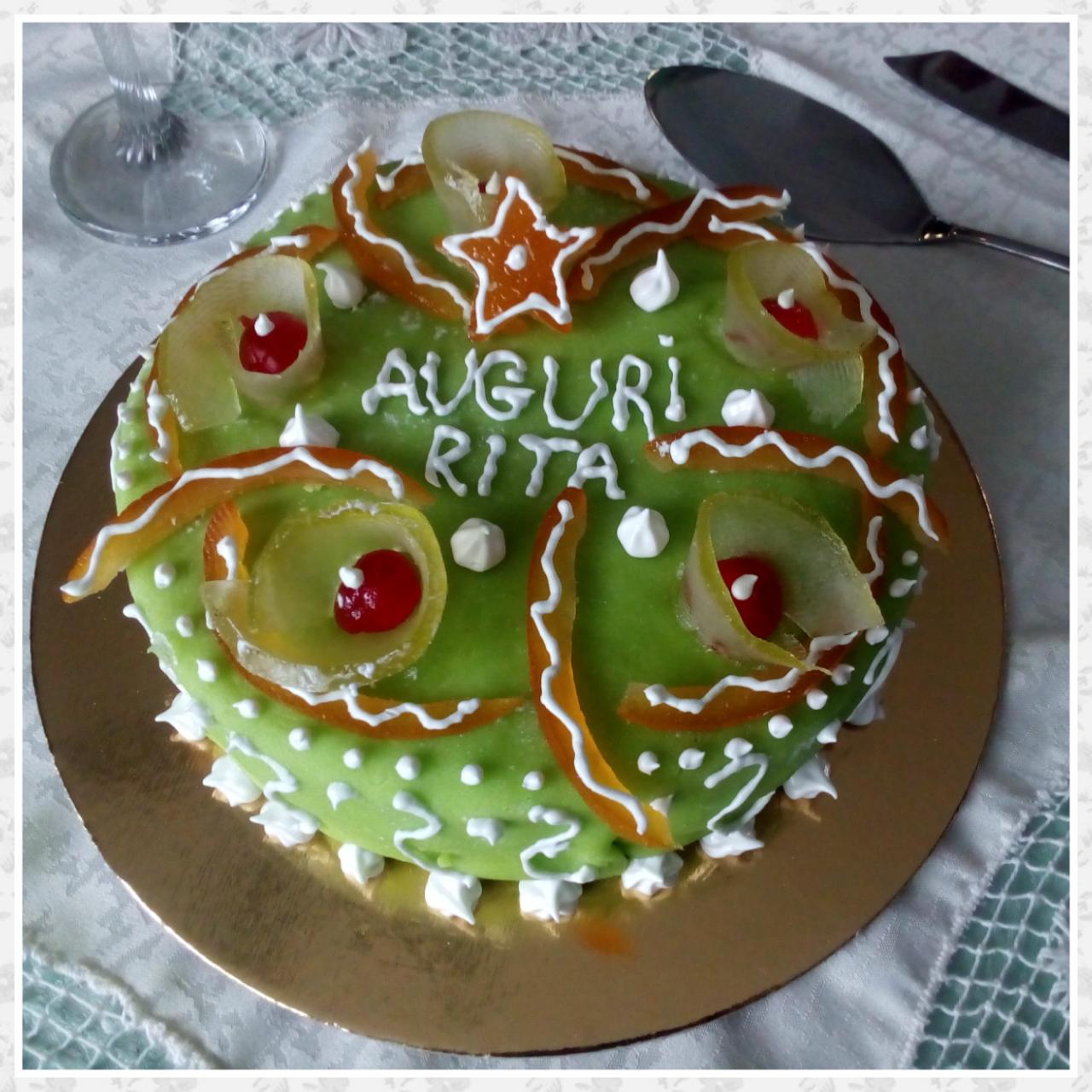 Torta cassata un tripudio di sapori e colori