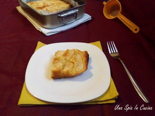Torta di mele senza uova e latte