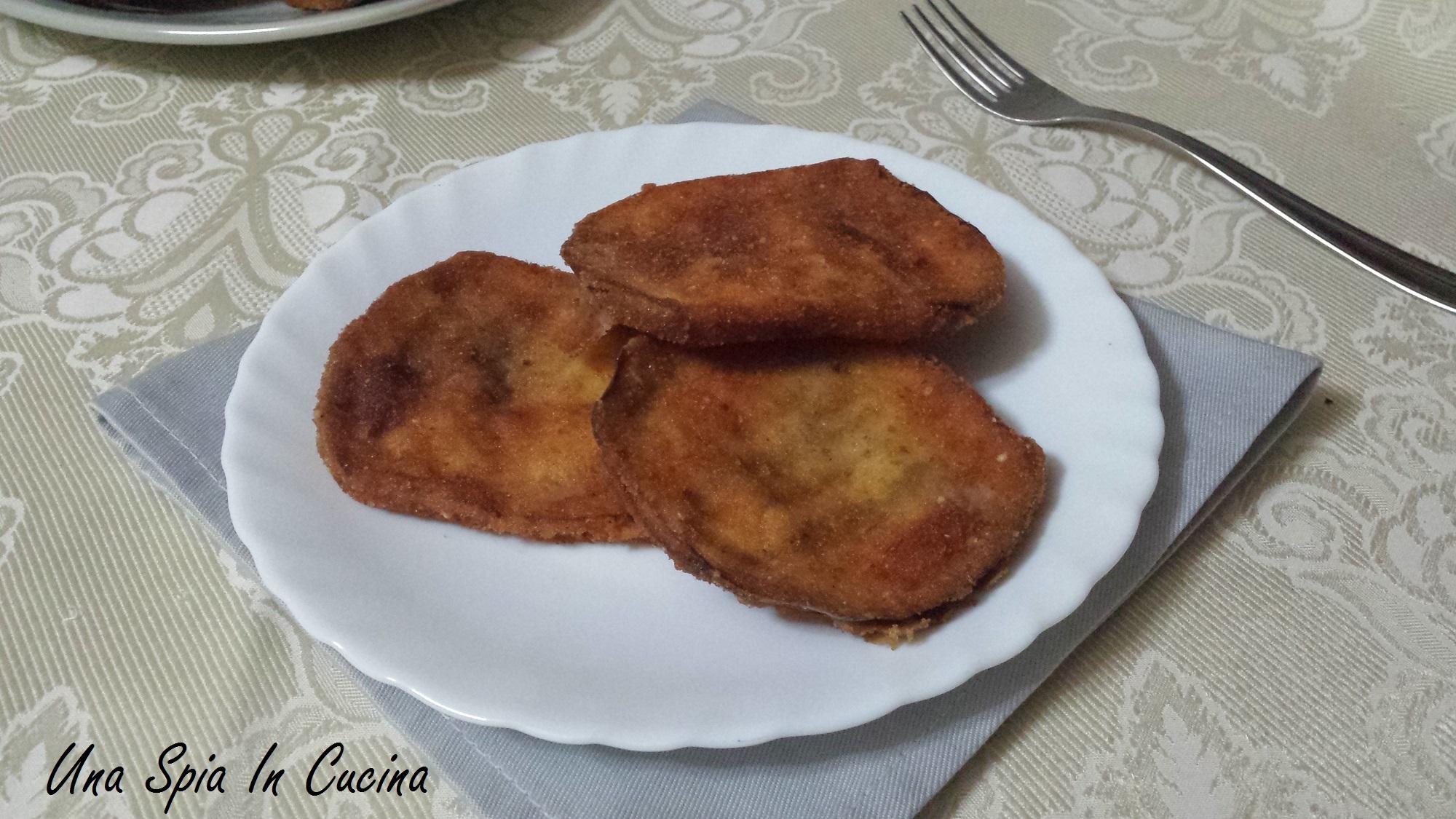 Cotoletta di melanzana tunisina
