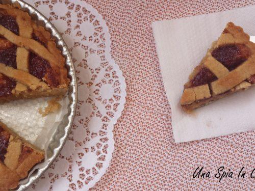 Crostata con frangipane e confettura home made