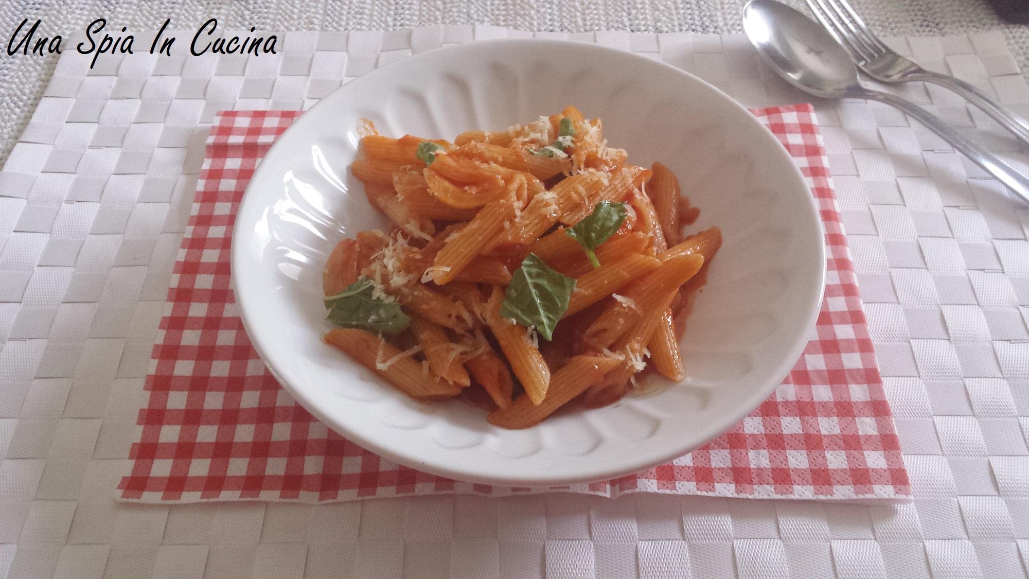 Ricetta siciliana - Pasta al pic pac