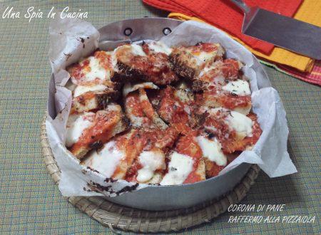 Corona di pane raffermo alla pizzaiola