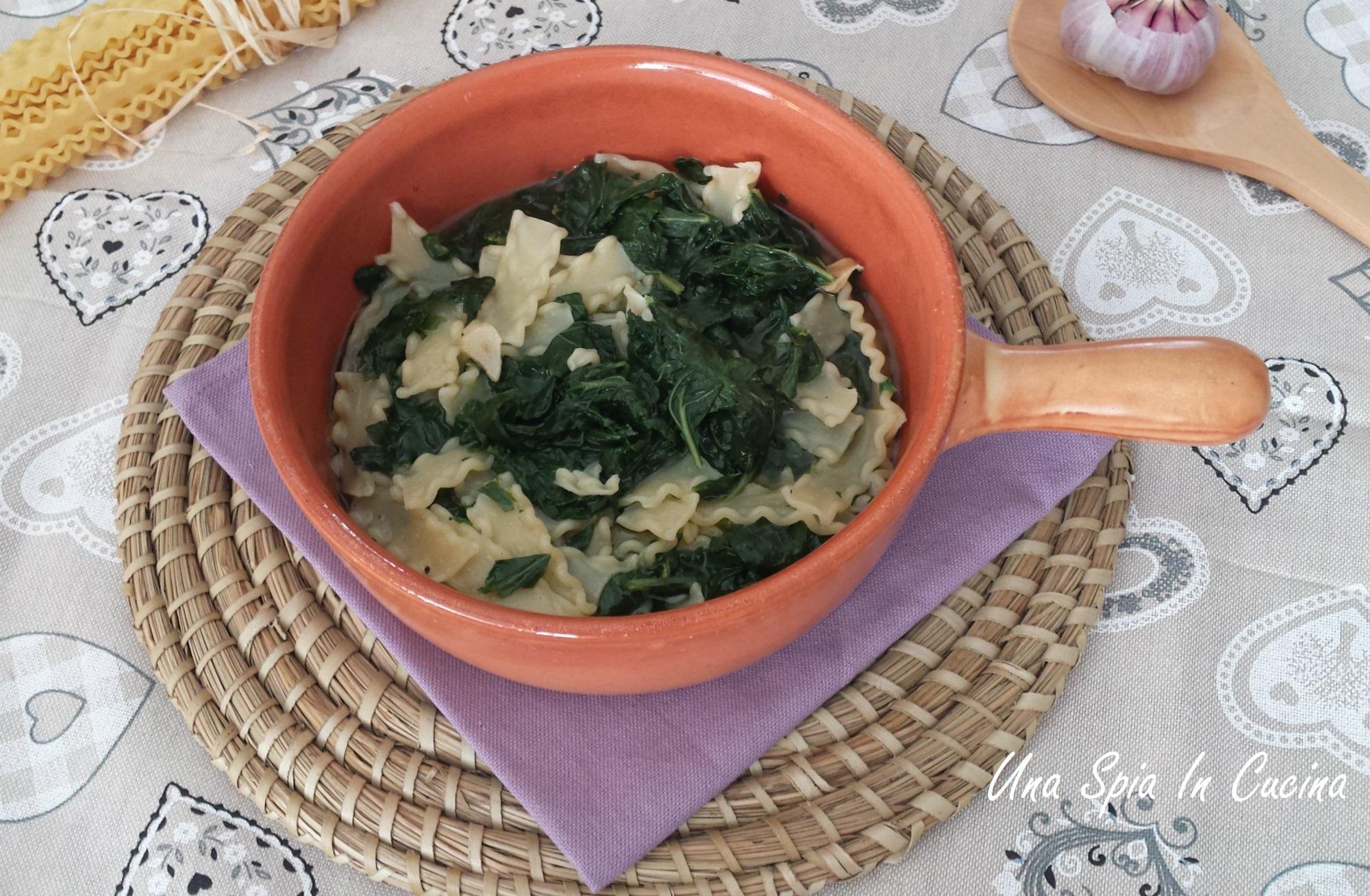 Minestra con cavolo rapa - Ricetta siciliana