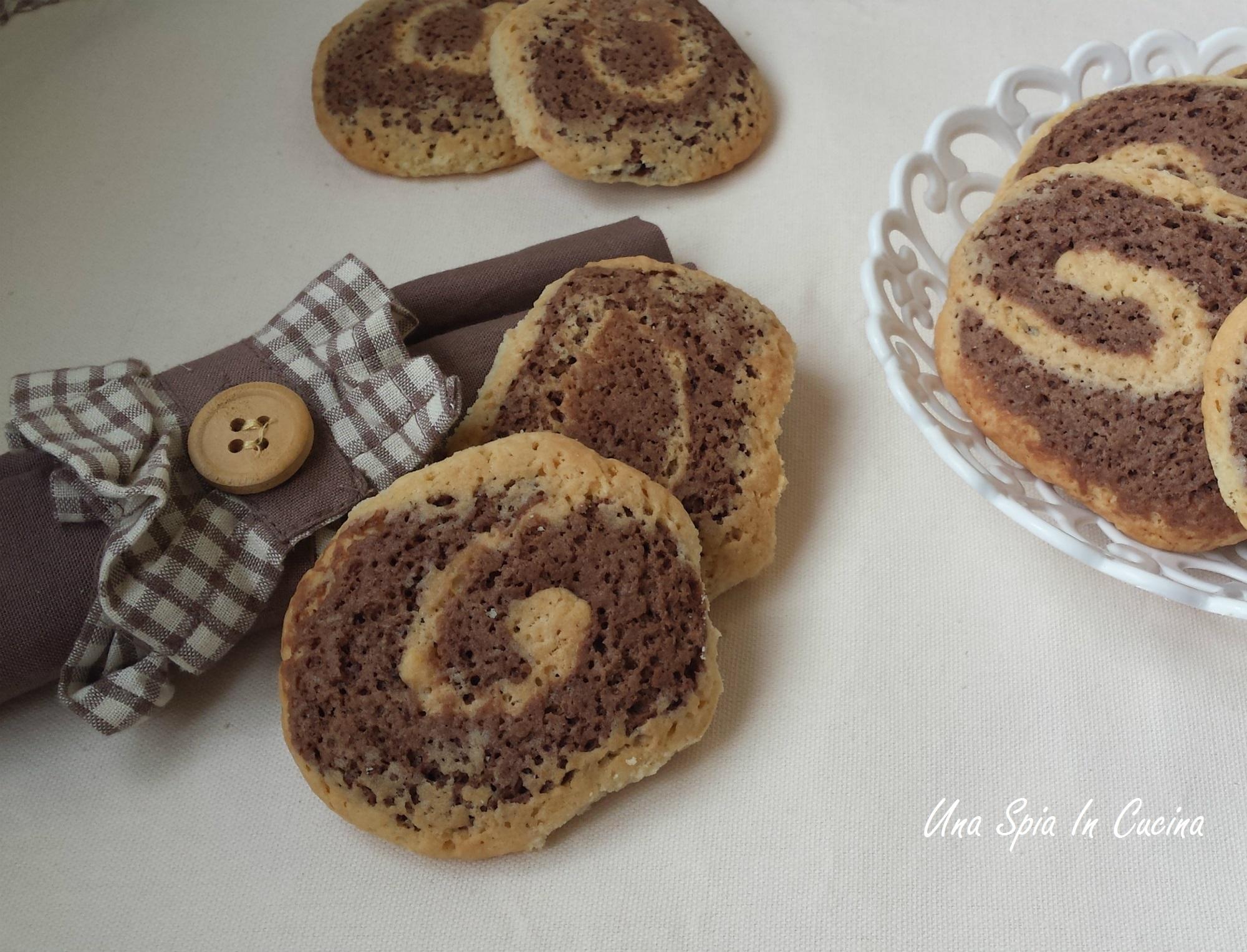 La ricetta dei biscotti girella croccanti per giorni