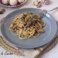 Pasta con funghi misti (porcini e champignon)