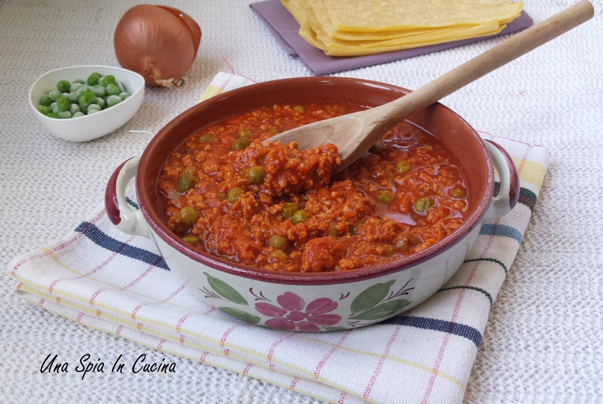 Il ragù siciliano - Ricetta della nonna