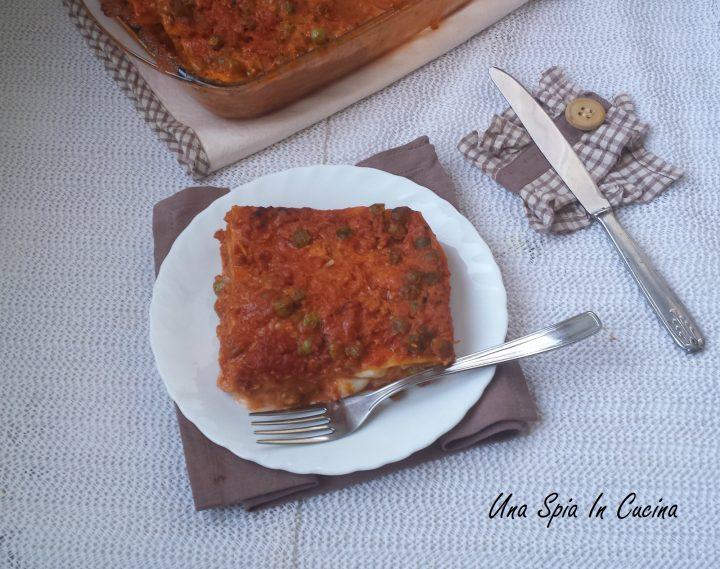 Le lasagne con il ragù siciliano