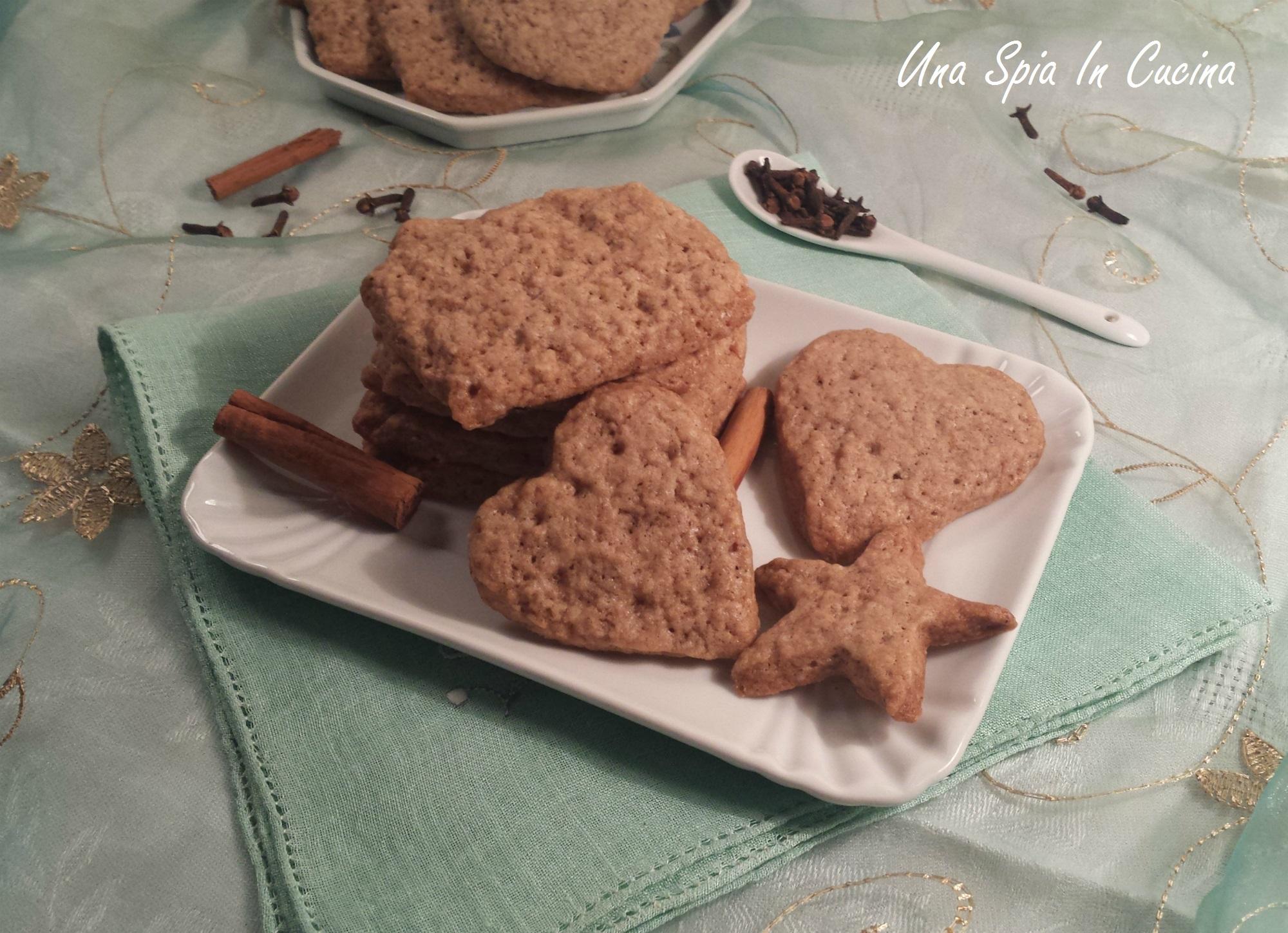 Speculoos - Biscotti tipici dei Paesi Bassi