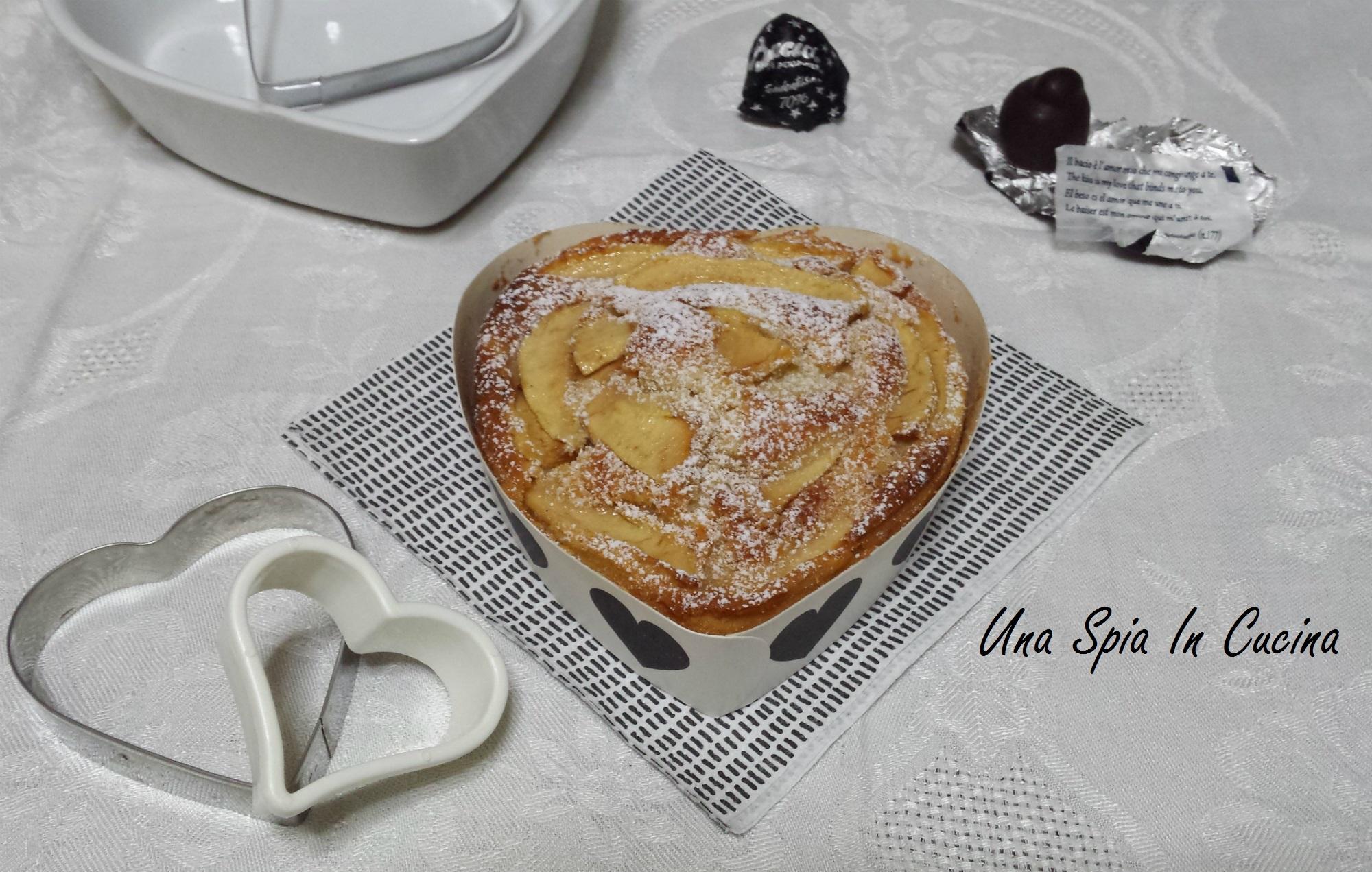 Torta morbida al mascarpone con mele