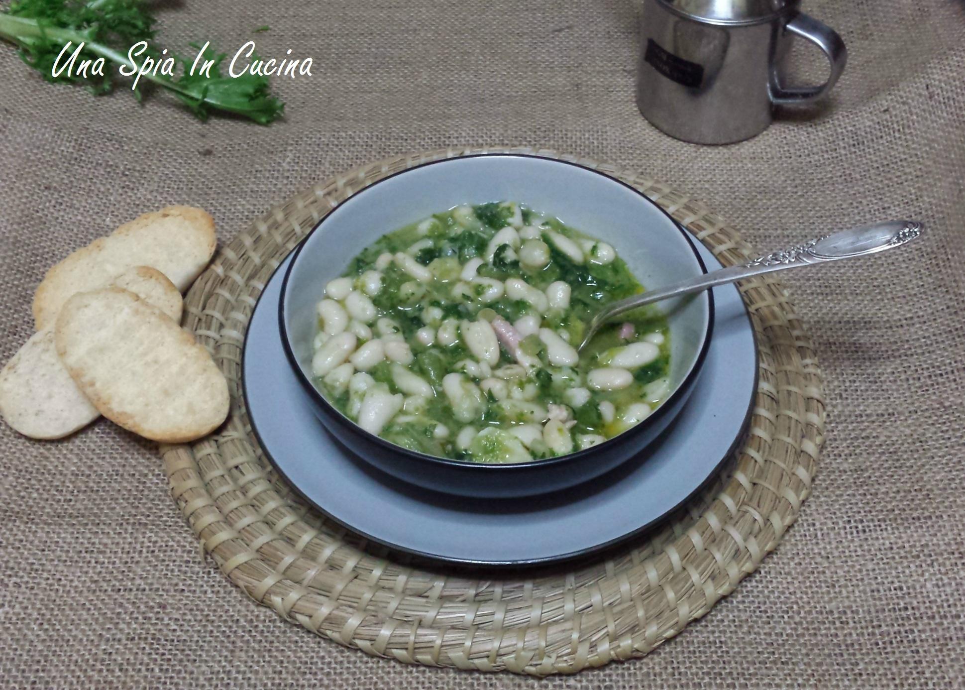 Zuppa di fagioli e scarole - Ricetta campana