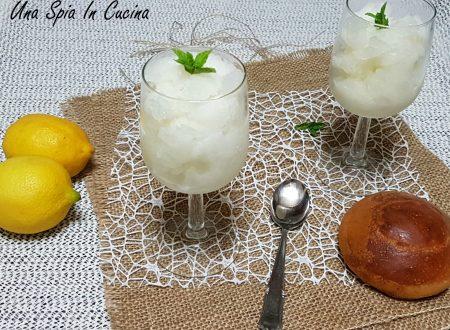 Granita al limone siciliana dissetante – Ricetta estiva