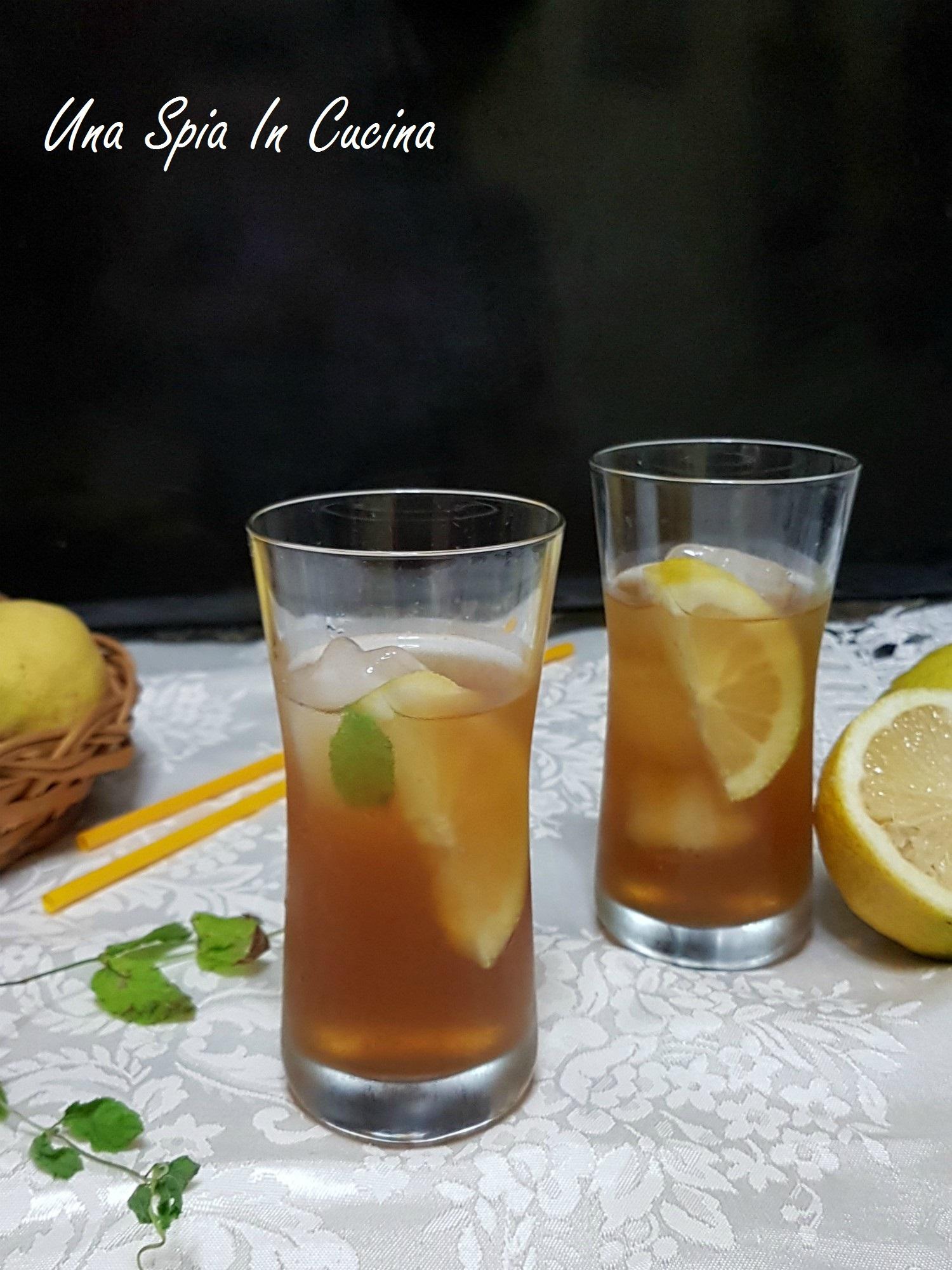 T freddo menta e limone trucchi e consigli una spia - Foglie limone nere ...