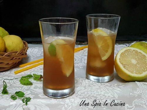 Tè freddo menta e limone – trucchi e consigli