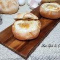 Rosette farcite uova e formaggi