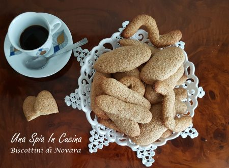 I biscottini di Novara con farina integrale