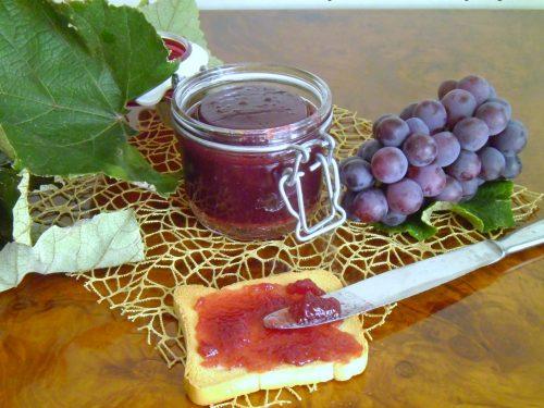 Confettura di uva fragola senza pectina