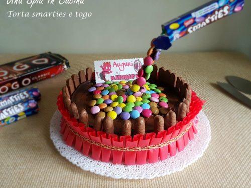 Torta smarties e togo  (Gravity cake)
