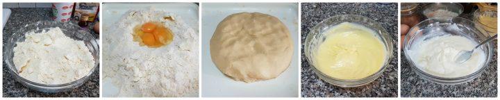 Pastiera napoletana con crema pasticcera