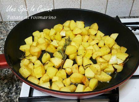 Patate al rosmarino – cottura in padella
