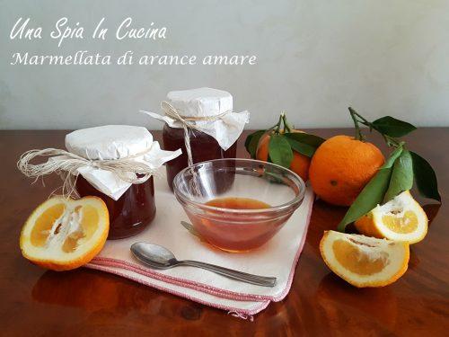 Marmellata di arance amare con le scorzette