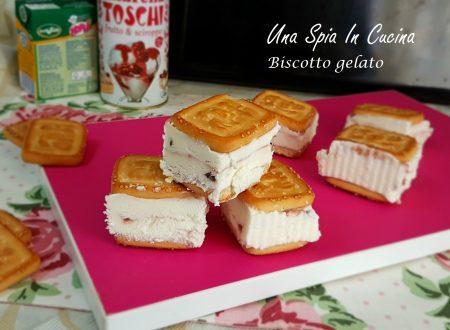 Biscotto gelato – Merenda estiva
