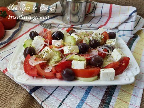 Insalata greca – Con l'horiatiki è estate