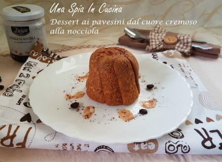 Dessert ai pavesini dal cuore cremoso alla nocciola