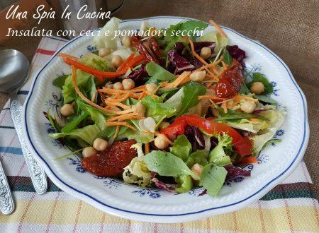 Insalata con ceci e pomodori secchi – ricetta estiva