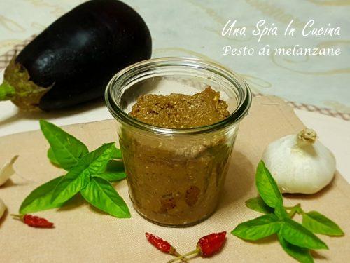 Pesto di melanzane nere di Palermo