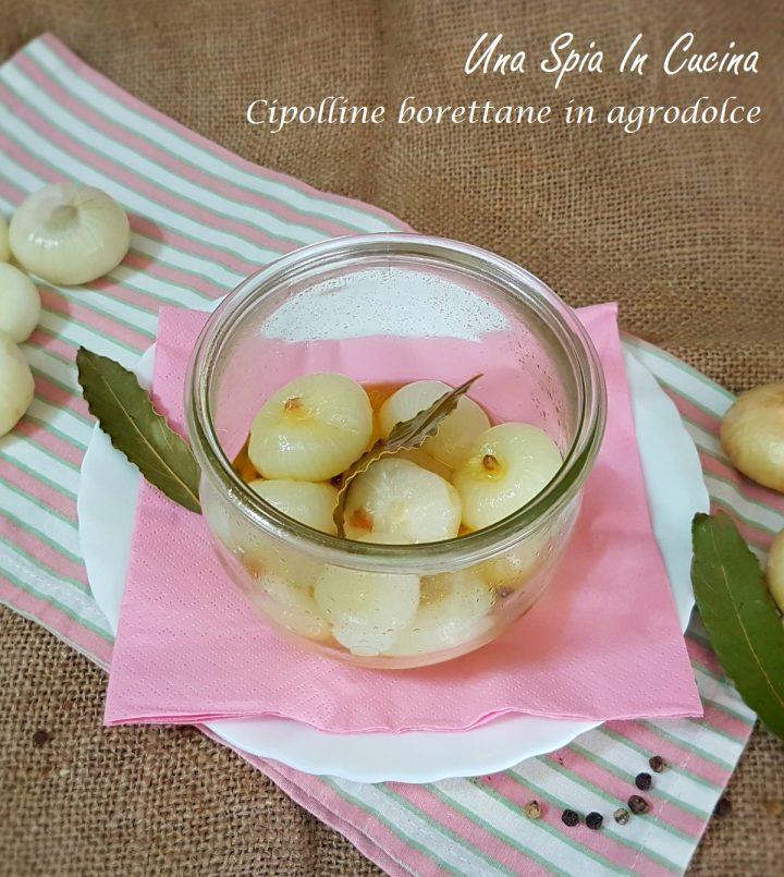 Cipolline borettane in agrodolce
