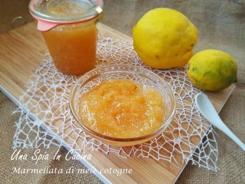 Marmellata di mele cotogne metodo Ferber
