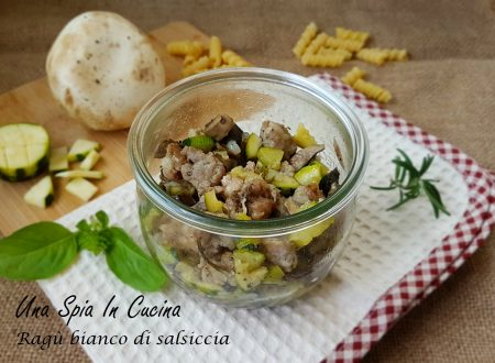Ragù bianco di salsiccia in vasocottura