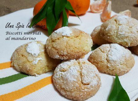 Biscotti morbidi al mandarino profumati e genuini