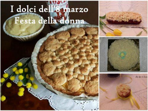 I dolci dell'8 marzo – Festa della donna