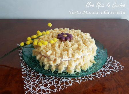 Torta mimosa alla ricotta non solo bella…