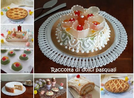 Raccolta di dolci pasquali della tradizione