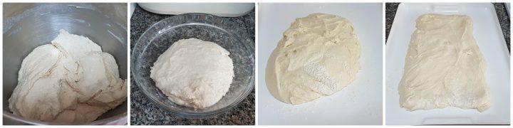 Pane con biga dalla crosta croccante