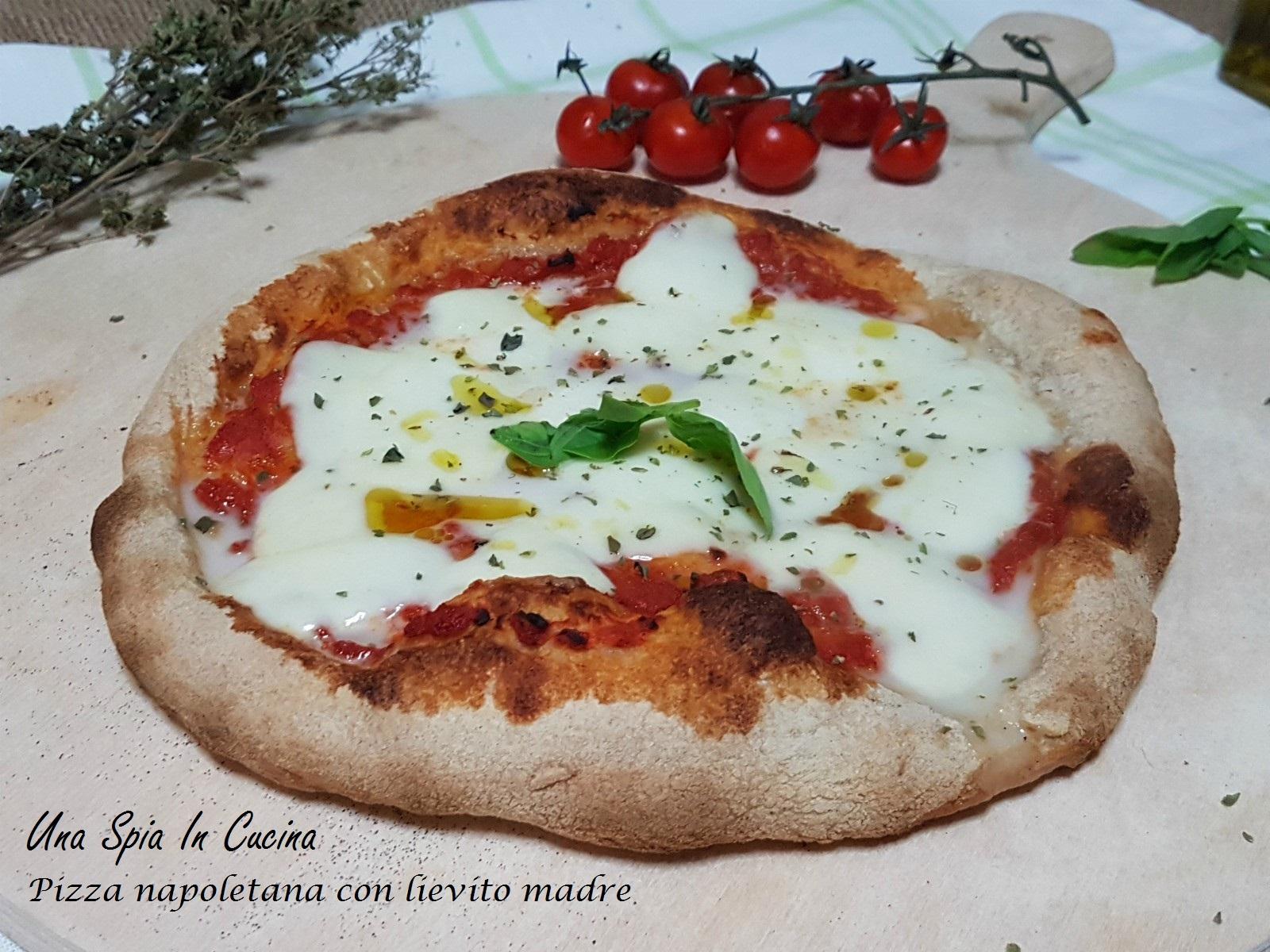 Ricetta Impasto Pizza Napoletana Planetaria.Pizza Napoletana Con Lievito Madre Una Spia In Cucina