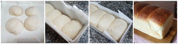 Pane al latte giapponese