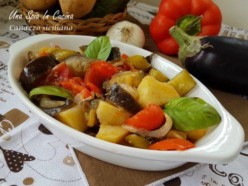 Canazzo siciliano – Contorno siciliano