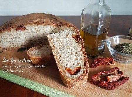 Pane ai pomodori secchi con farina 1