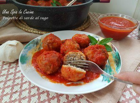 Polpette di sarde al sugo – Ricetta siciliana