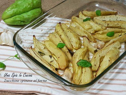 Zucchine spinose al forno – Contorno semplice