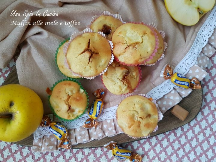 Muffin alle mele e toffee