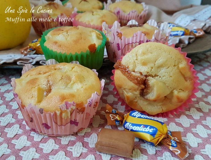 Muffin alle mele e toffe