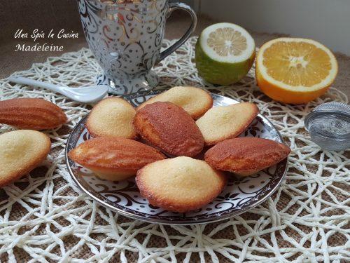 Madeleine biscotti francesi morbidi