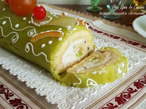 Rotolo cassata siciliana – Dolce principe delle feste