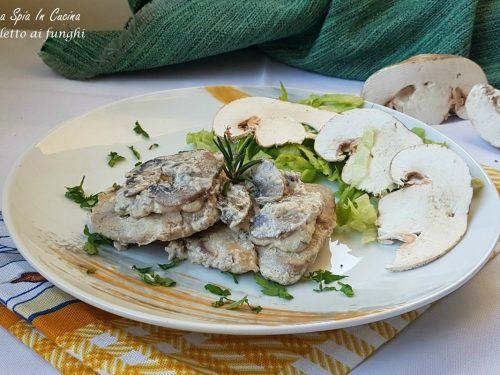 Filetto ai funghi tenero e gustoso