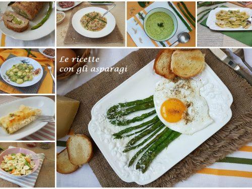 Ricette con gli asparagi freschi o surgelati